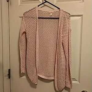 Cat & Jack girls XL sweater pink